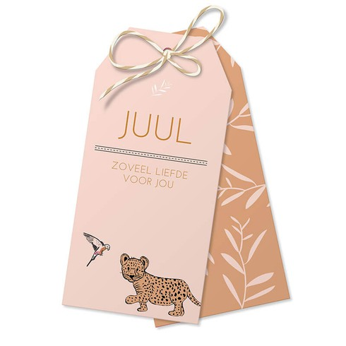 Label leopard - Juul