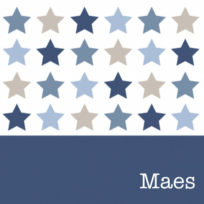Mixed Stars Blue - Maes voor