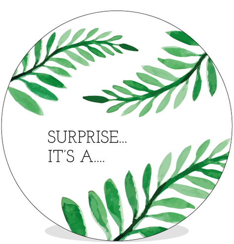 Sluitsticker DIY - Surprise voor