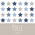 Mixed Stars Blue - Polle voor