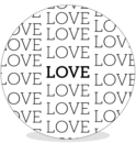 Sluitsticker DIY - Love love love