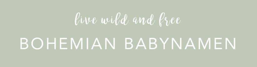 Babynamen Bohemian Style