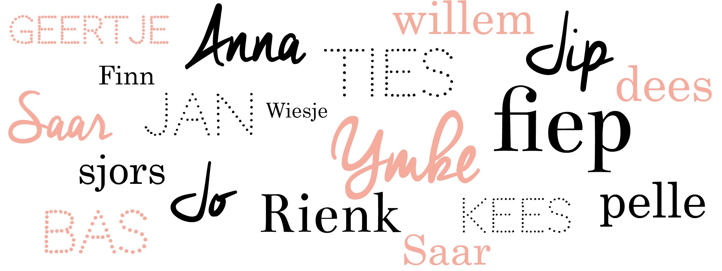 Hollandse Babynamen Geinspireerd Op Geboortekaartjes Lief Leuk E